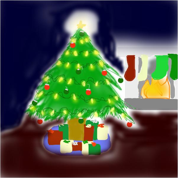 my familys christmas tree.