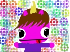 Justin bieber as a unicorn