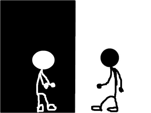 Black VS. White