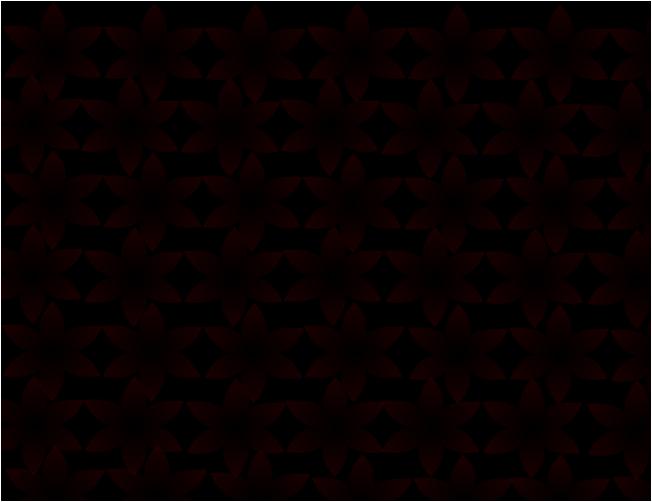 red spooky flower in black background