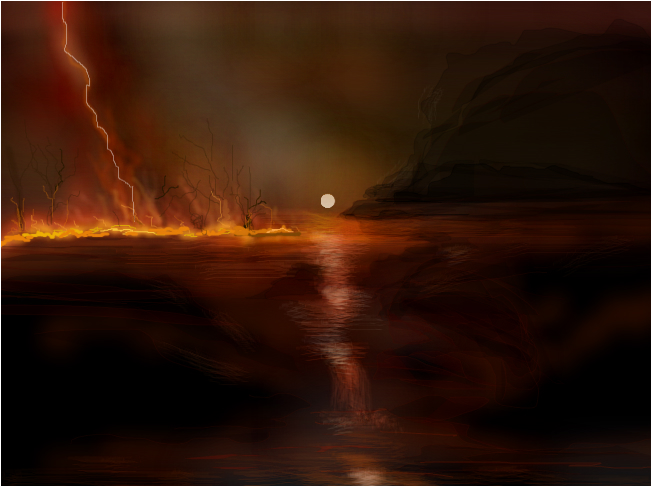 Fire On The Water #2