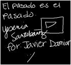 For Javier Damian