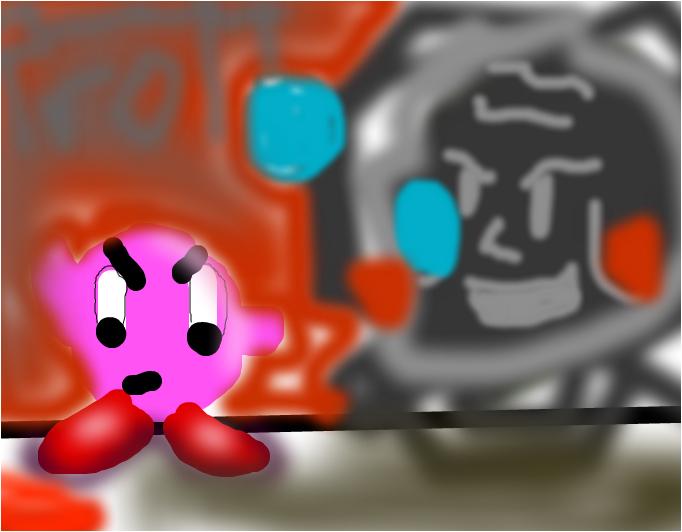 Kirby vs.....Troll Face?