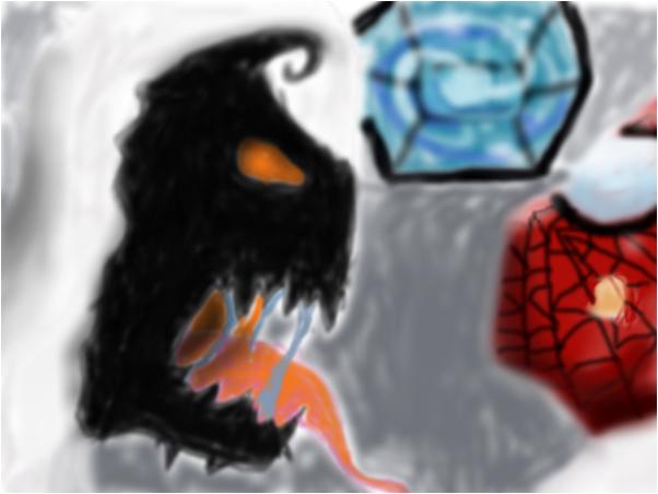 Spiderman and Anti-venom
