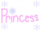 A princess in a candyland