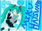 Miku Hatsune~Request from Comic Gyrl :3