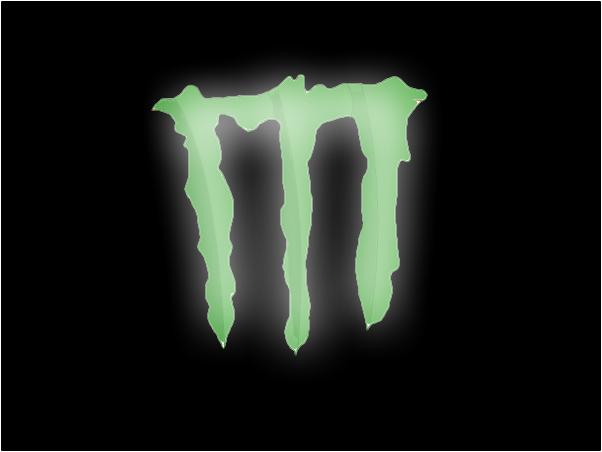 Monster Logo, Energy Drink