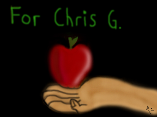 A apple for Chris