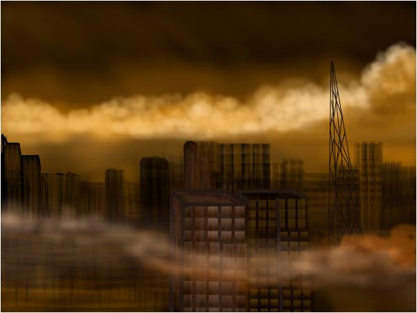 SMOGGY CITY...POST APOCOLYPTIC