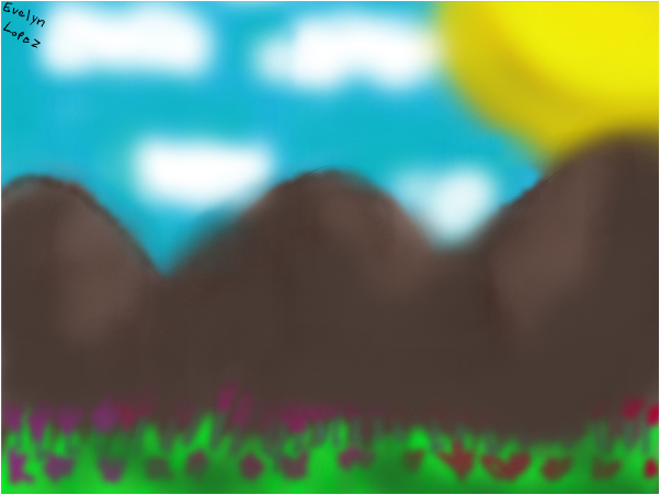 A mountain breeze