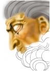 Michelangelo's God in The Creation of Adam