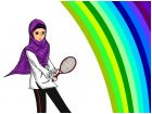 sporty muslimah