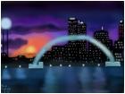 Sunset Lights on Cities