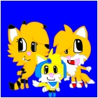 Happy tree friends: Servalheart,Tails, and Pheonix