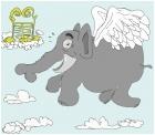 elefant goes to heavan