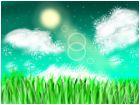Moonrise meadow