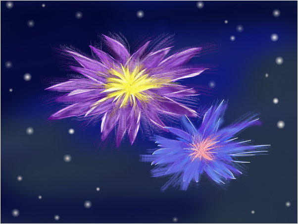 Flowers in the Night