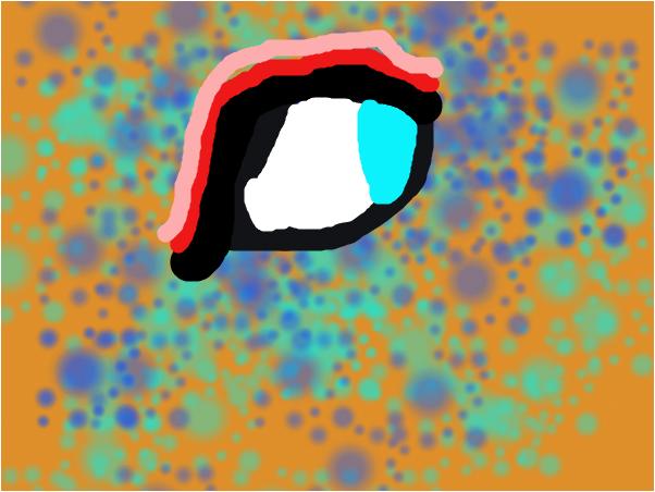 eye in coler