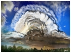 crazy clouds :D