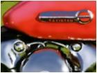 Red Harley-Davidson