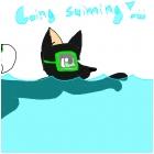 Going Swimming! :3