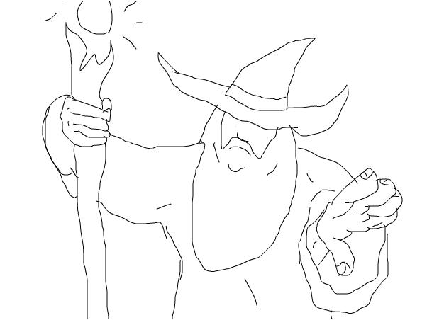 gandalf strikes back