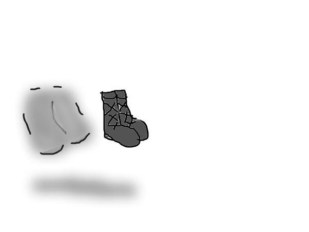 shoe shadow