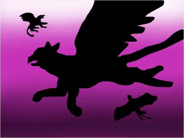 griffins flying