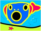 the pink sea fish