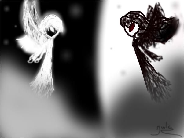 wight angel vs dark angel