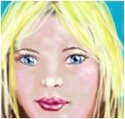 Face of a girl