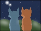 Bluefur (Bluestar) and Oakheart