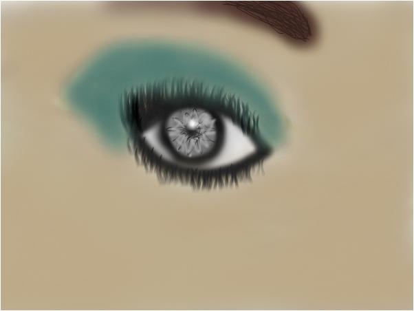 mysterious eye