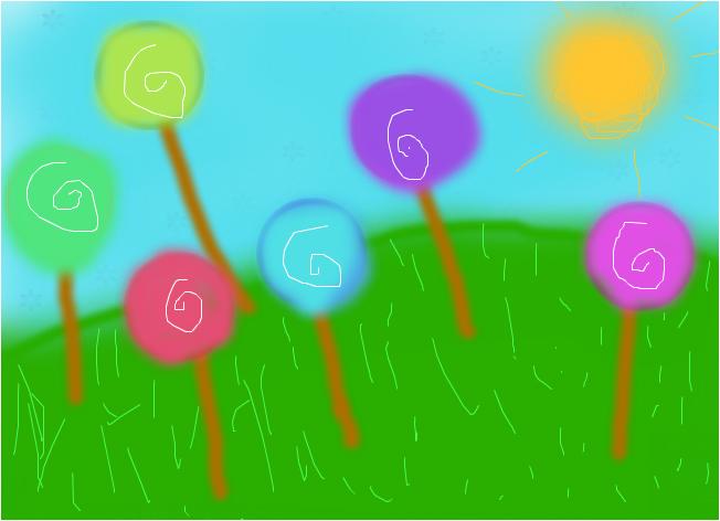 The lollipop Tree's