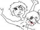 my sister bit my nipple