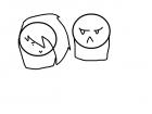 awwww dont be so grumpy annoying dude :)