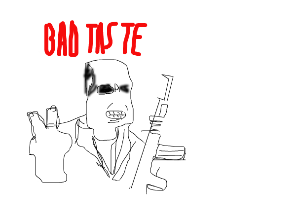 Bad Taste Alien