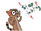 Rigby from Regular Show