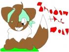 Shadowthewolf as: Eevee