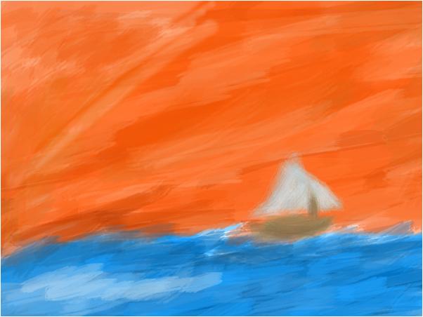 Set Sail At Sun Set