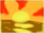sunset animation