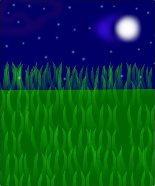 Night meadow