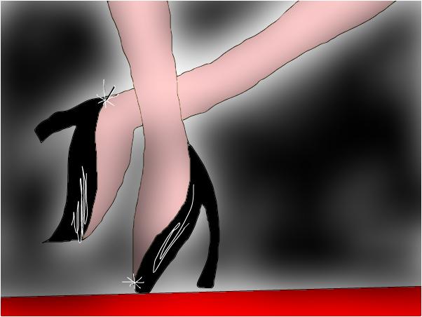Red Carpet Diva High Heels