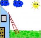 ladder/house