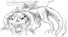 contest entry: death dragon