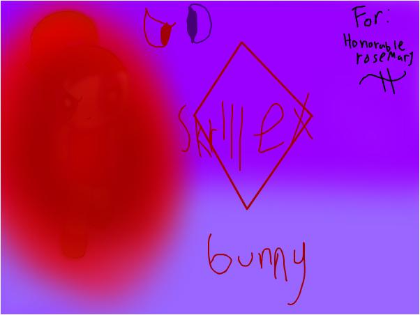 Bunny as skrirrex