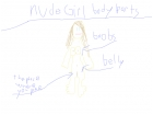 Nude body parts:girl