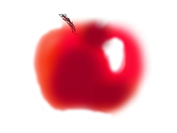 My practice apple