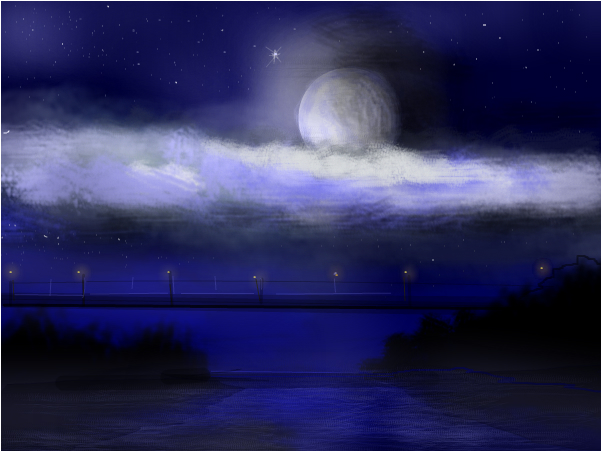For Grace....Moon and Stars