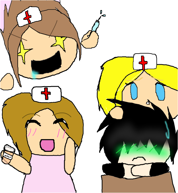 So glad I have my nurses to take care of me ;w;